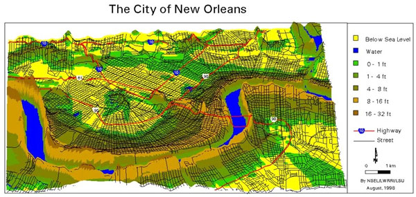 Geography Of New Orleans  Architecture Studios  Class
