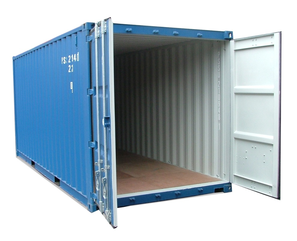 Shipping containers physical characteristics for Structure conteneur